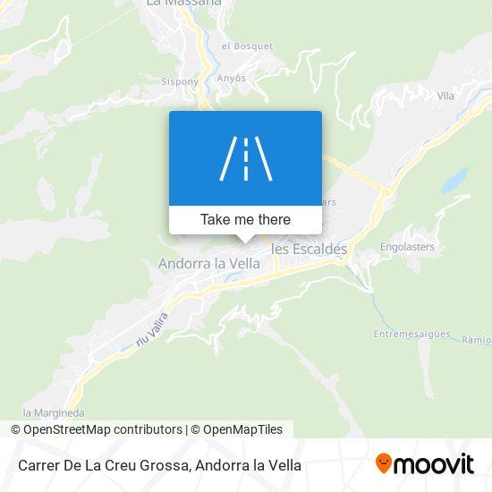 Carrer De La Creu Grossa map