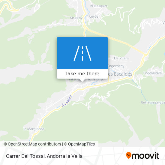 Carrer Del Tossal map