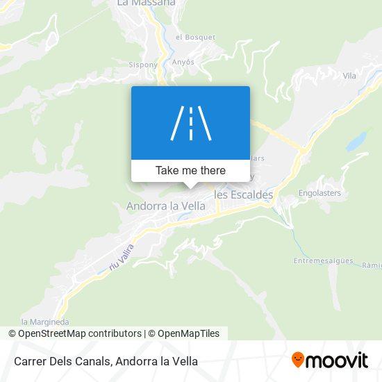 Carrer Dels Canals map