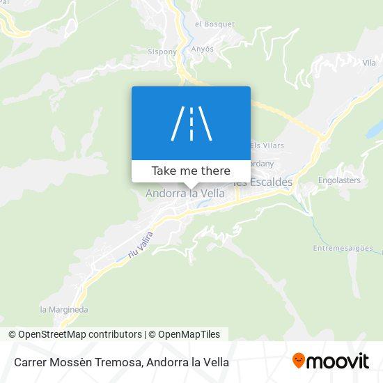 Carrer Mossèn Tremosa map