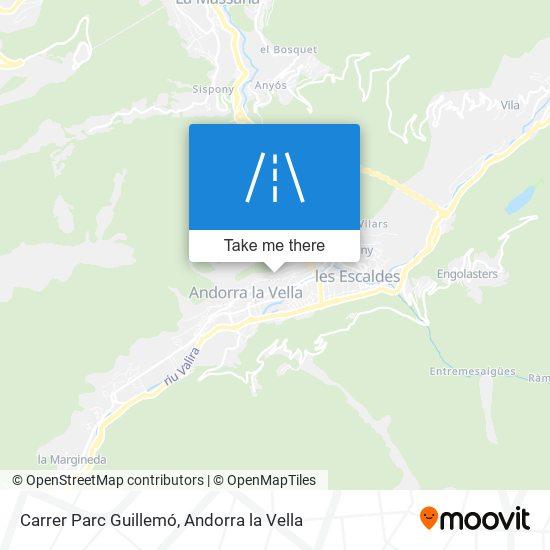 Carrer Parc Guillemó map