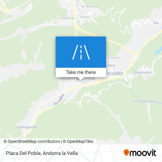 Placa Del Poble map
