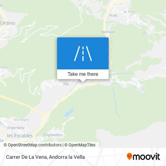Carrer De La Vena map