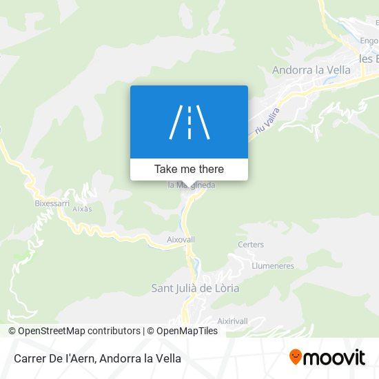 Carrer De I'Aern map