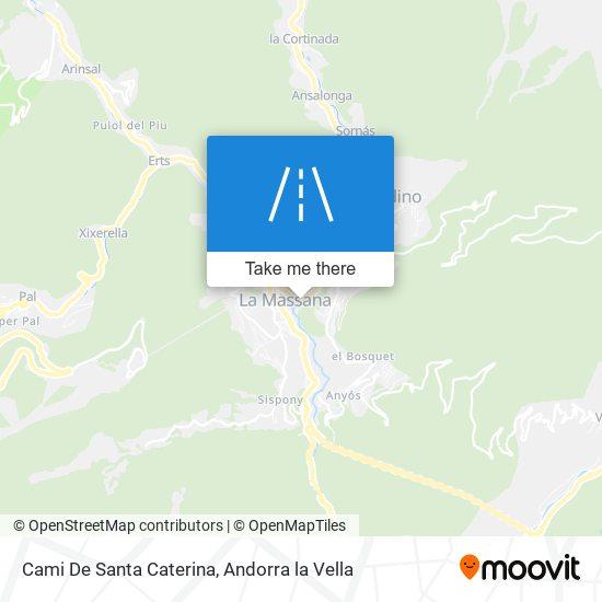 Cami De Santa Caterina map