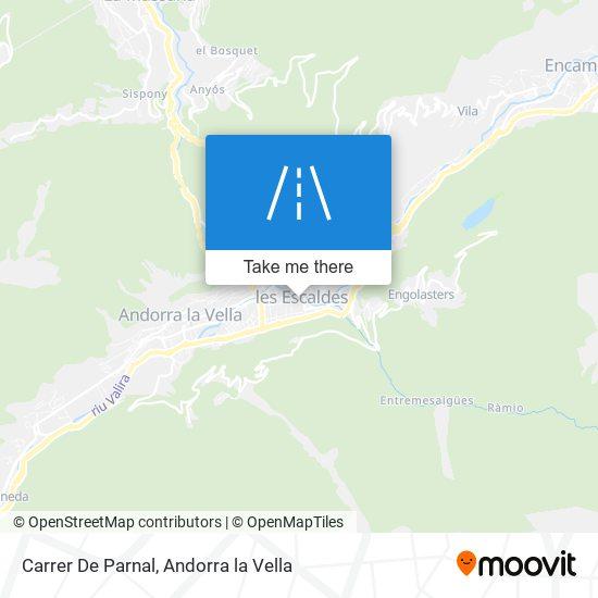 Carrer De Parnal map