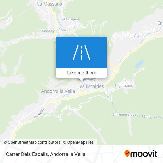Carrer Dels Escalls map