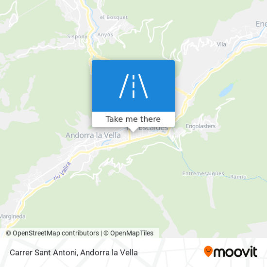 Carrer Sant Antoni map