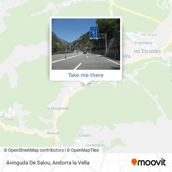 Avinguda De Salou map