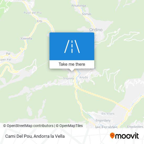 Cami Del Pou map