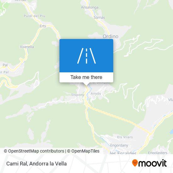 Cami Ral map
