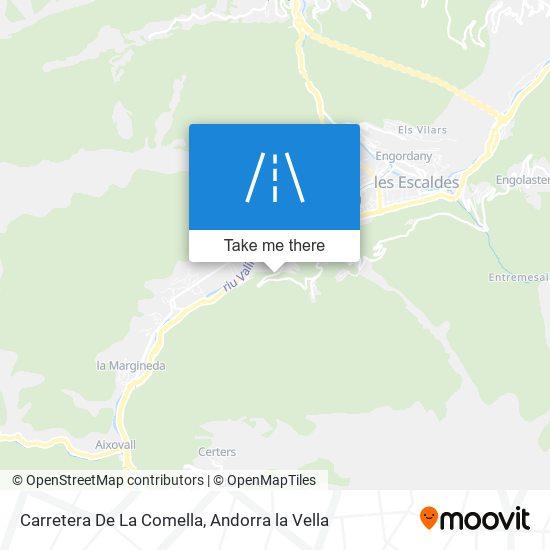 Carretera De La Comella map