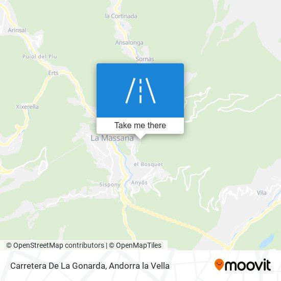 Carretera De La Gonarda map