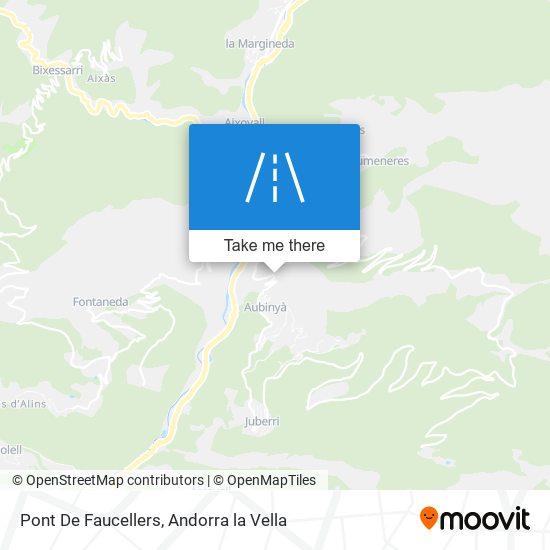 Pont De Faucellers map