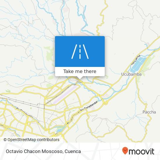 Octavio Chacon Moscoso map