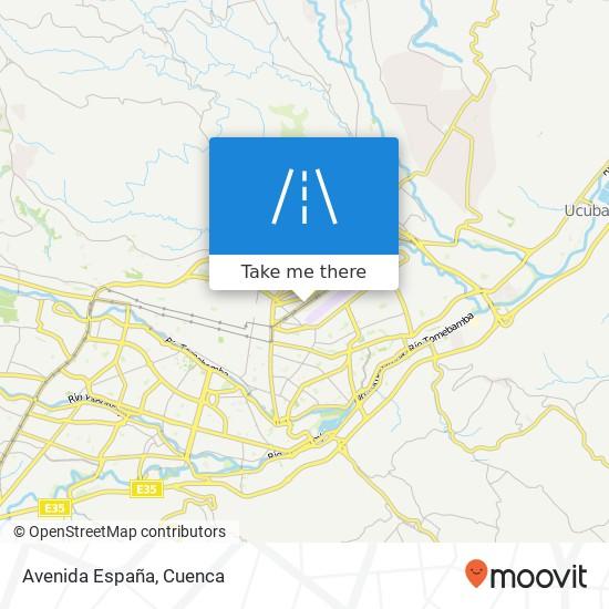 Avenida España map