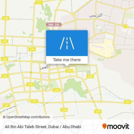Ali Bin Abi Taleb Street map