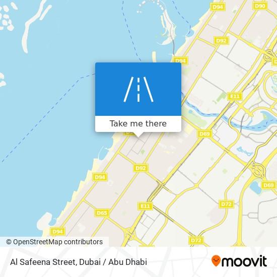 Al Safeena Street map