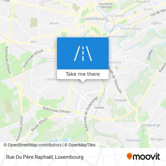 Rue Du Père Raphaël map
