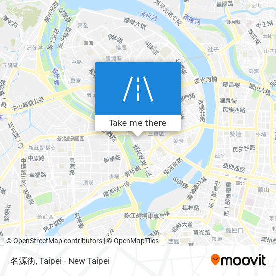 名源街 map