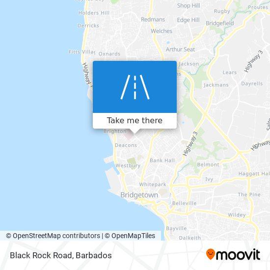 Black Rock Road map