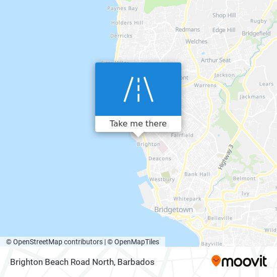Brighton Beach Road North map