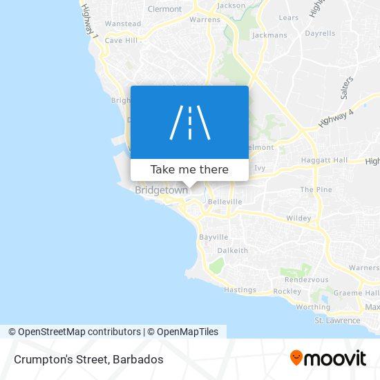 Crumpton's Street map