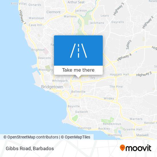 Gibbs Road map