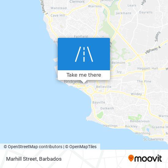 Marhill Street map