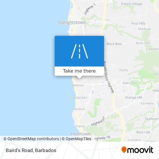 Baird's Road map