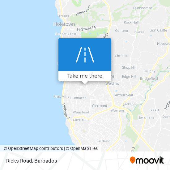 Ricks Road map