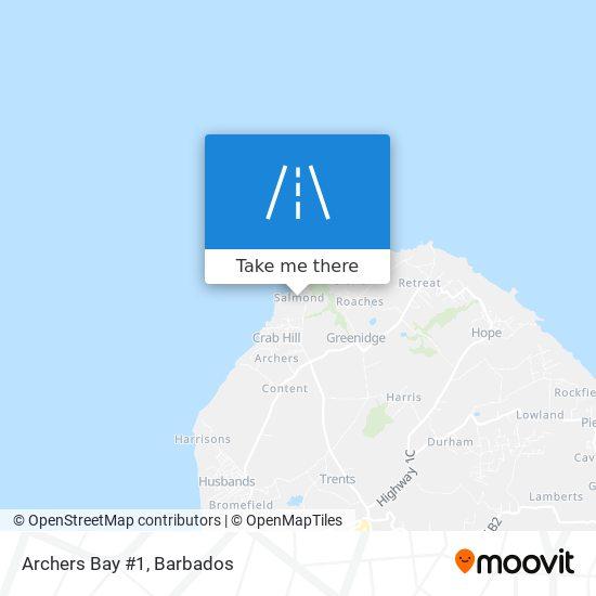 Archers Bay #1 map