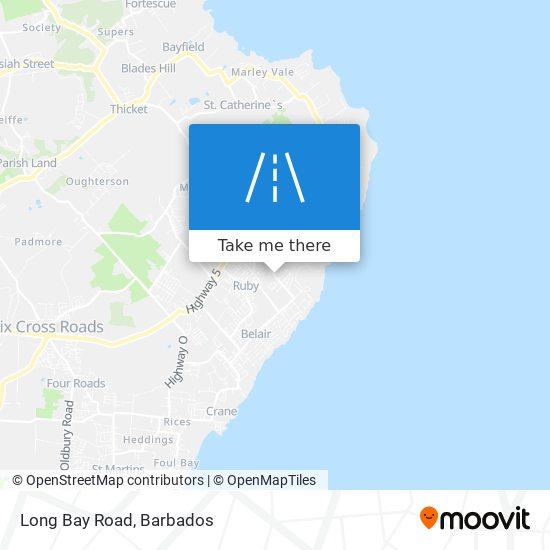Long Bay Road map