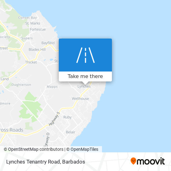 Lynches Tenantry Road map
