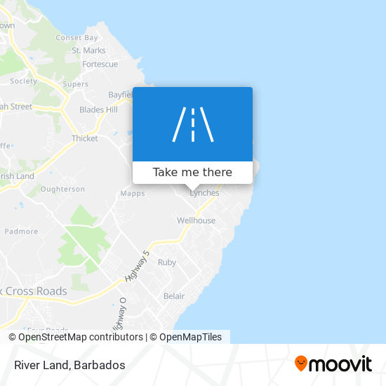 River Land map