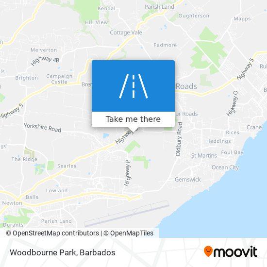 Woodbourne Park map