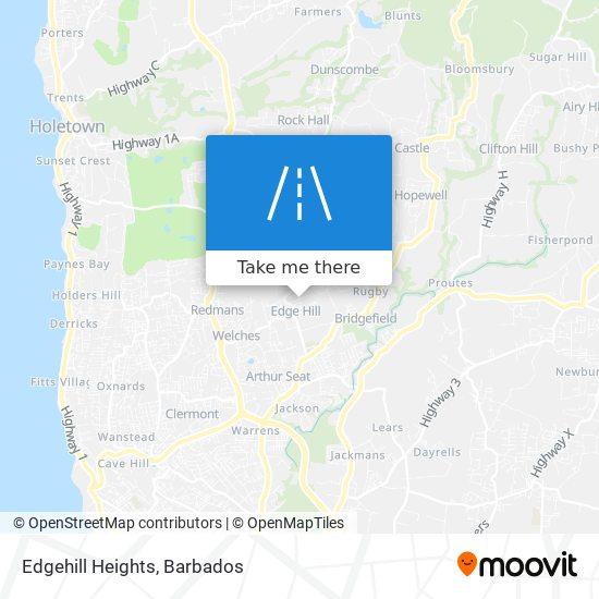 Edgehill Heights map