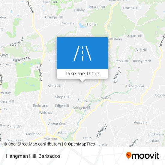 Hangman Hill map