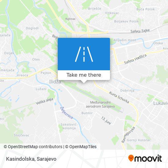 Kasindolska map