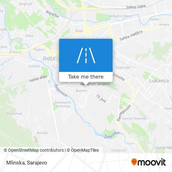 Mlinska map