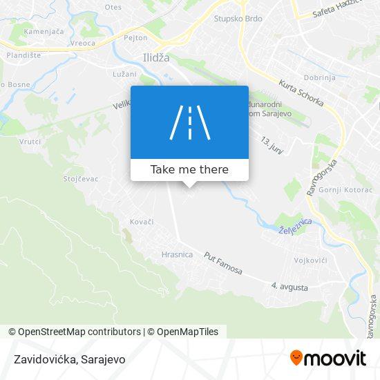 Zavidovićka map