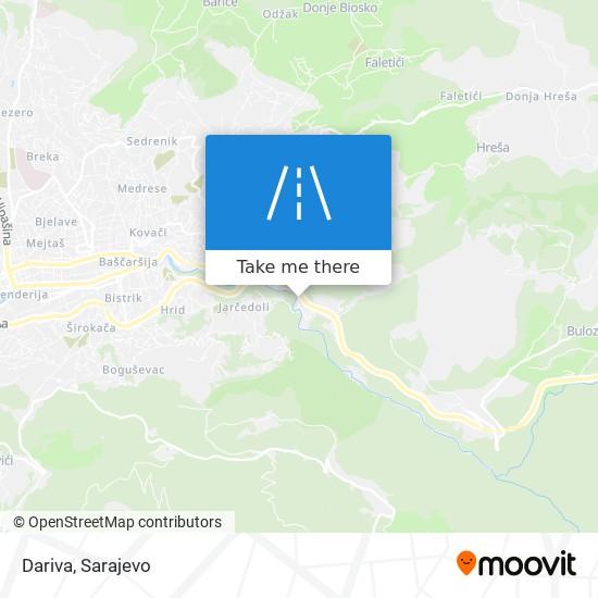 Dariva map
