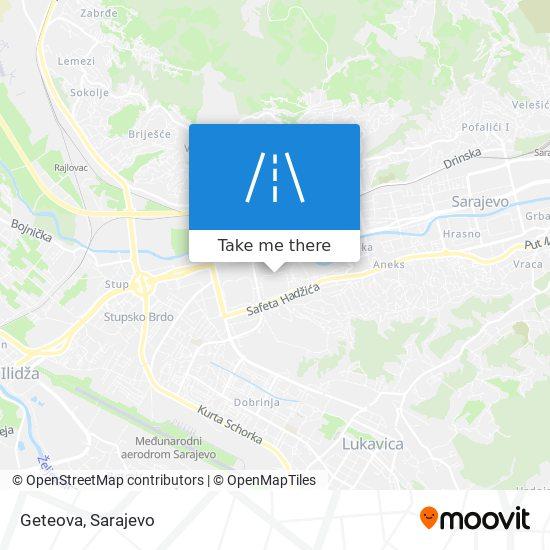 Geteova map