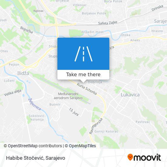 Habibe Stočević map