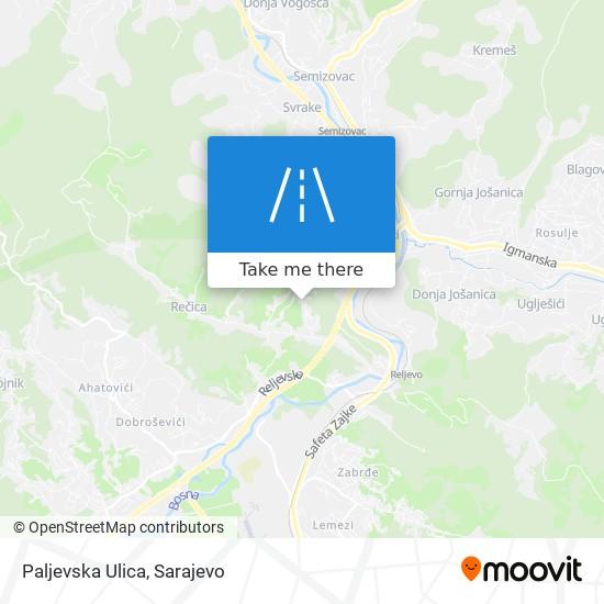 Paljevska Ulica map