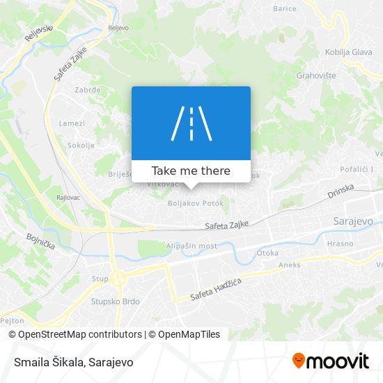 Smaila Šikala map