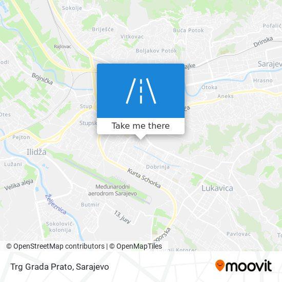 Trg Grada Prato map