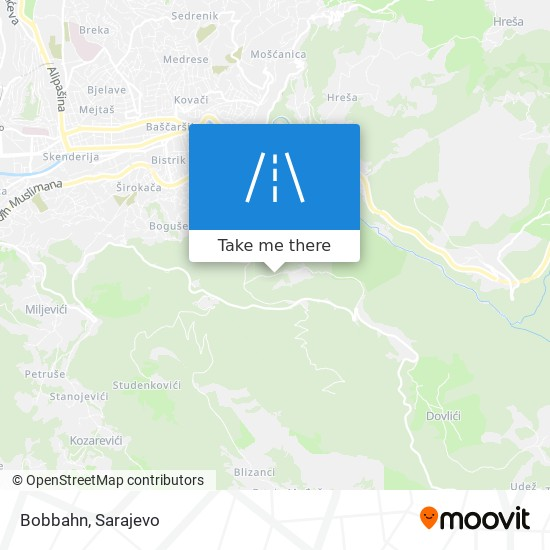 Bobbahn map