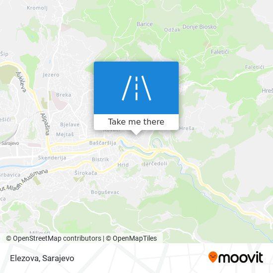 Elezova map