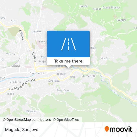 Maguda map